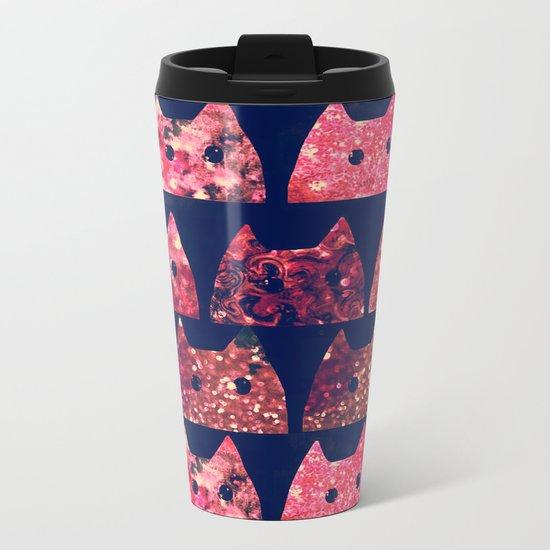 cat-95 Metal Travel Mug