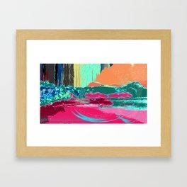 """""""X Marks the Spot"""" Framed Art Print"""