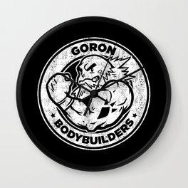 Goron Bodybuilders Wall Clock