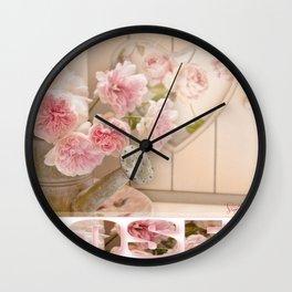 The Art of Roses  Wall Clock