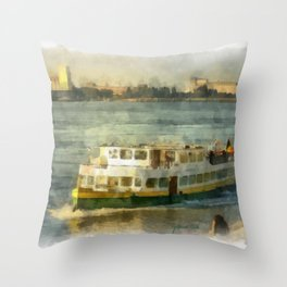 Jan Plezier Throw Pillow