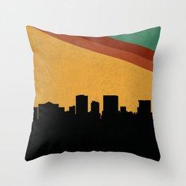 El Paso Skyline Throw Pillow