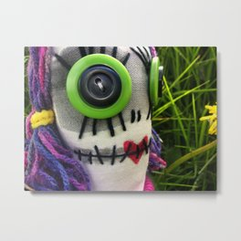 Beauty is in the eye of the beholder. Metal Print