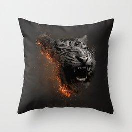 XTINCT x Tiger Throw Pillow