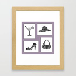 What A Girl Wants Framed Art Print