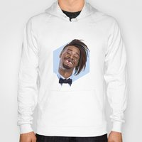 danny ivan Hoodies featuring Danny Brown by LinnMaria_ink
