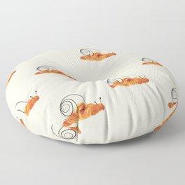 croissant snail Floor Pillow
