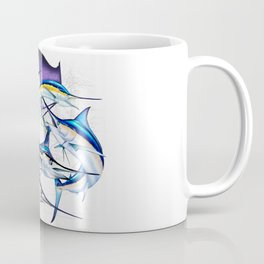 Pacific Billfish Slam Marlins,Sailfish,Swordfish,Spearfish Coffee Mug