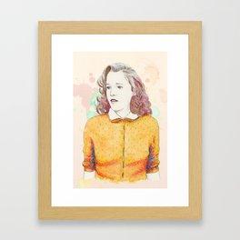 Lorraine Baines - Secondary character? Never! Framed Art Print