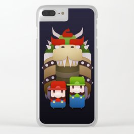 Famous Bros. Clear iPhone Case