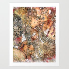 Spew All Over You Art Print