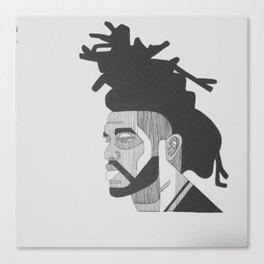 OG Weeknd Canvas Print