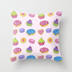 Sweets #2 Throw Pillow