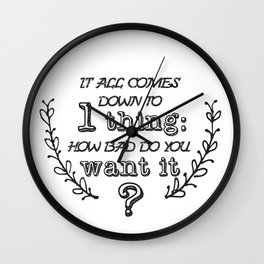 Do you want it? Wall Clock