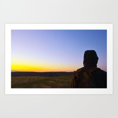 Facing Dawn Art Print