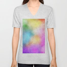 Rainbow Candy Unisex V-Neck