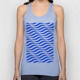 Blue Waves Unisex Tank Top