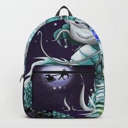 Christmas Santa Chinese Dragon ArtofFD Backpack