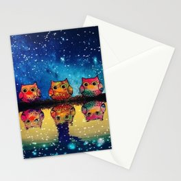 owl space version 141 Stationery Cards
