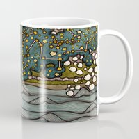 constellations Mugs featuring Constellations by Love on a Bike