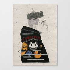 F Society. Canvas Print