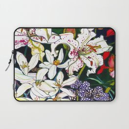 Lilies & Orchids Laptop Sleeve