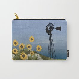 Wind Pump American Style Windmill Carry-All Pouch