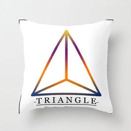 T R I A N G L E Throw Pillow