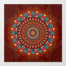 Crystalline Harmonics - Tribal Canvas Print