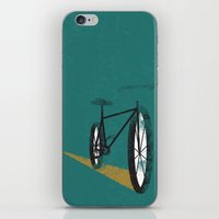 cycle iPhone & iPod Skins featuring Cycle by foureighteen