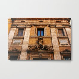 S. Maria in Trivio church in Rome Metal Print
