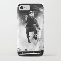 gorillaz iPhone & iPod Cases featuring Damon Albarn (Blur) - I by Tomás Correa Arce (RockMe TommyBoy)
