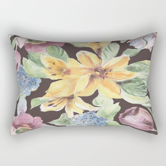 fall lily Rectangular Pillow