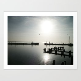 Holland shore Art Print