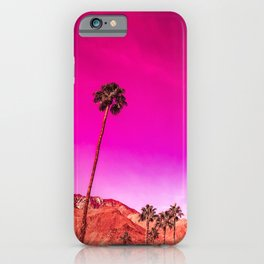 Palm Springs Rush Hour iPhone Case