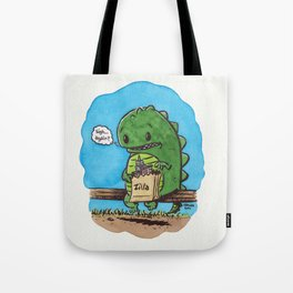 """lunch in the city"" Tote Bag"