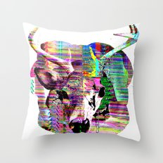Half n Half Throw Pillow