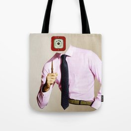 Business Man Alarm Tote Bag