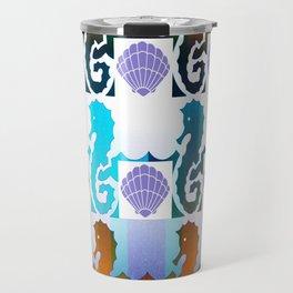 Seahorses & Shells 2 Travel Mug