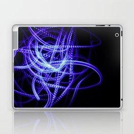 Abstract Blue Light Effect Laptop & iPad Skin