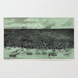 Detroit 1889 Rug