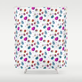 Easter Eggs Pattern Shower Curtain