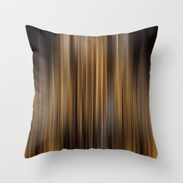 Elegant Gold Stripes Pattern Theater Cinema Curtain Background Throw Pillow