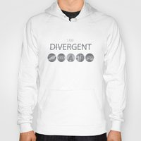 divergent Hoodies featuring I am Divergent by BlueCordial