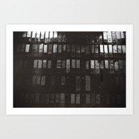 Compartmentalise Art Print