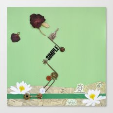 the rose  spring Canvas Print