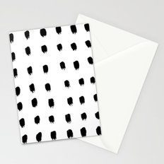 Jacques Pattern - Pure White Stationery Cards