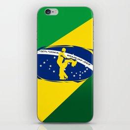 lets dance brazilian zouk flag design iPhone Skin
