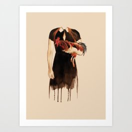 The year of the Rooster Art Print