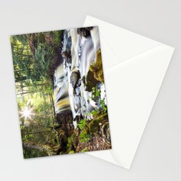 Upper Chapel Falls at Pictured Rocks National Lakeshore - Michigan Stationery Cards